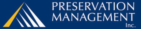 Preservation Management logo